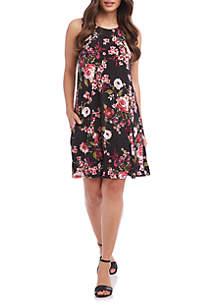 Karen Kane Floral Print Chloe Dress
