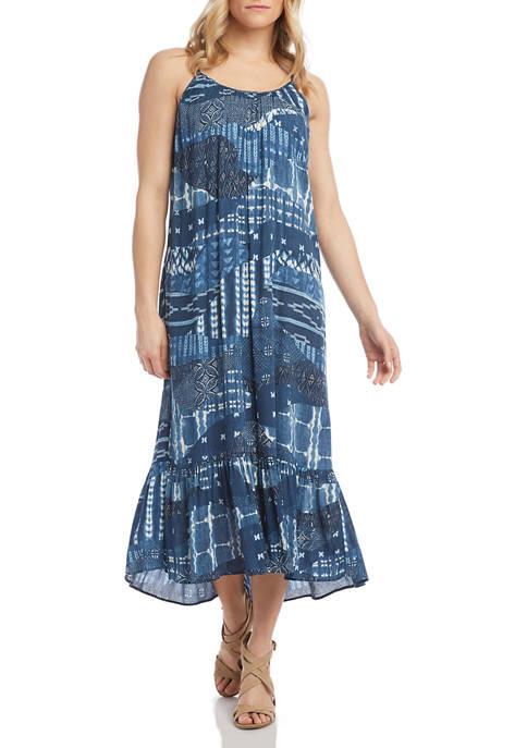 Womens Ruffle Hem Dress
