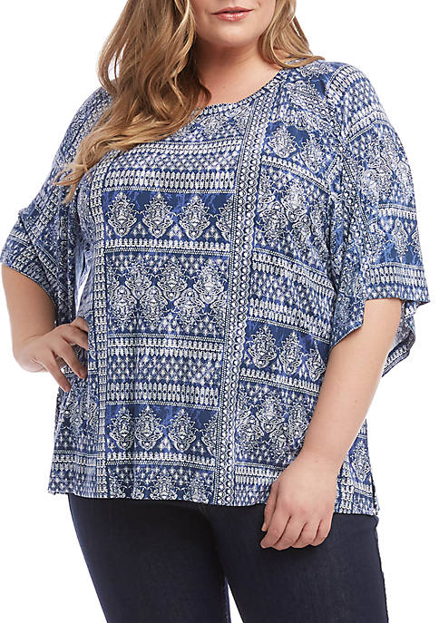 Plus Size Modern Sleeve Top