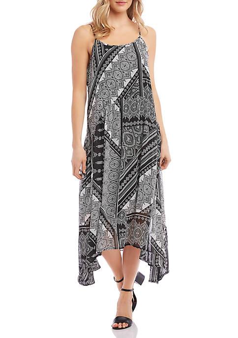Karen Kane Shirred Cami Dress