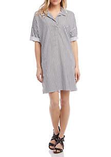 af37ee8ec4f6 ... Karen Kane Stripe Shirt Dress