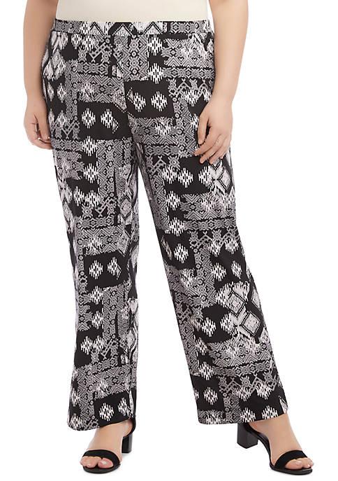Karen Kane Plus Size Soft Pants