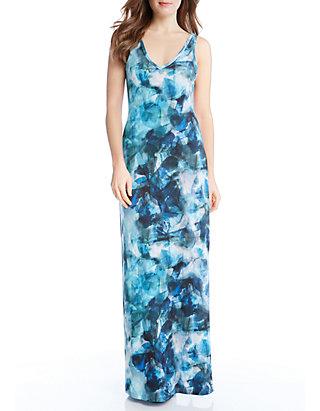 e5027e582d9 Karen Kane Sea Glass Maxi Dress   belk
