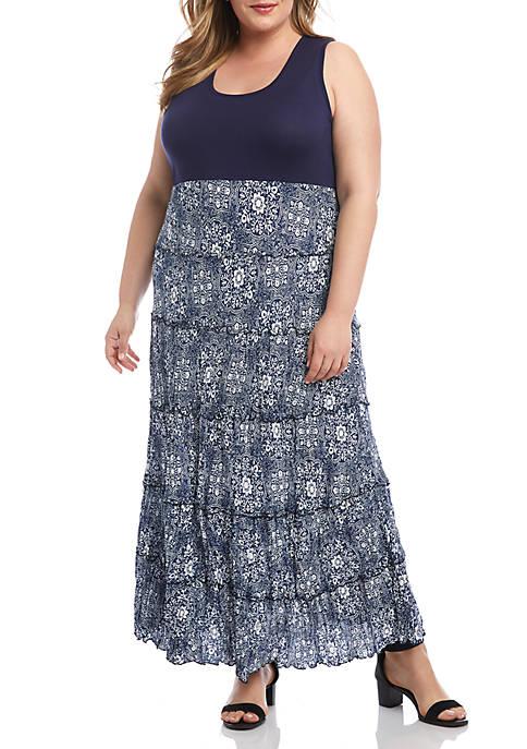 Plus Size Topanga Tiered Dress