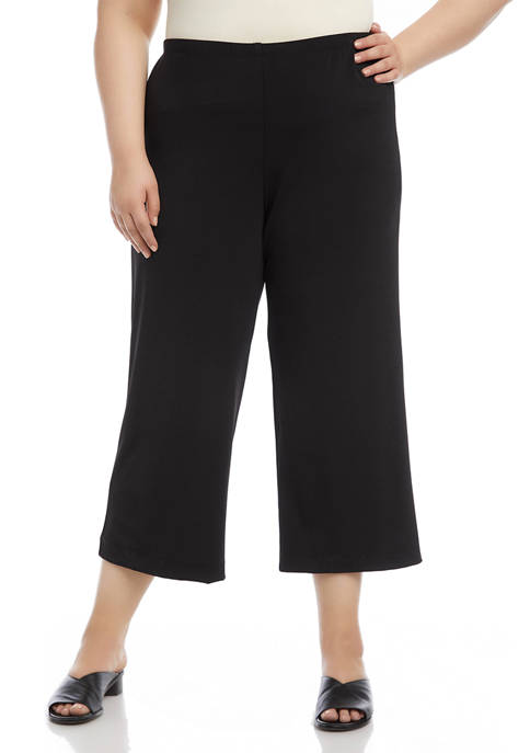 Karen Kane Plus Size Brooklyn Cropped Pants