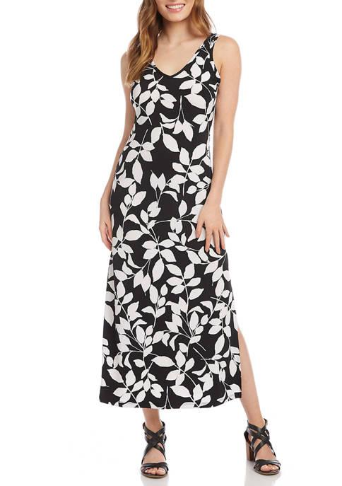 Karen Kane Womens Midi Length Alana Dress