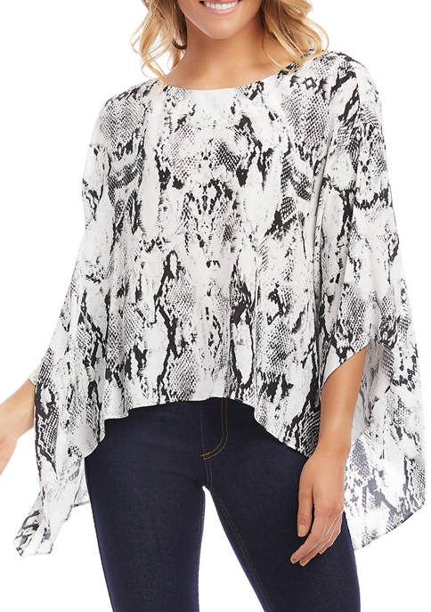 Womens Flare Hem Top