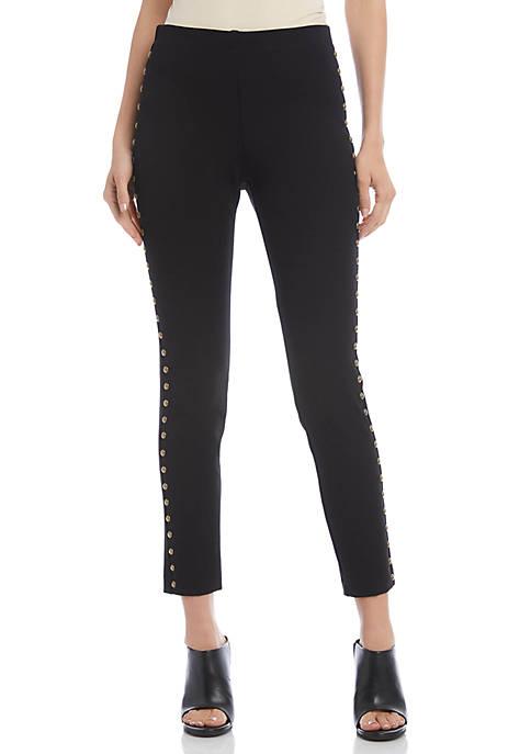 Karen Kane Womens Studded Piper Pants