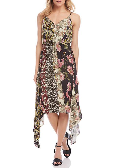 Mixed Print Cami Dress