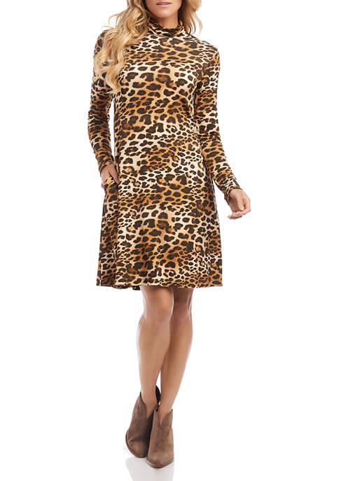 Womens Quinn Turtleneck Dress