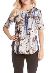 Short Sleeve Inkspot Tie Dye Tee