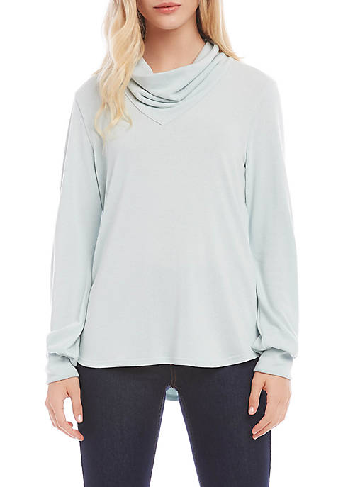 Womens Cowl Neck Sweater