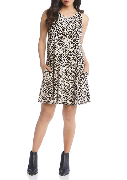 Karen Kane Leopard Sleeveless Chloe Dress