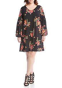 Poppy Print Taylor Dress