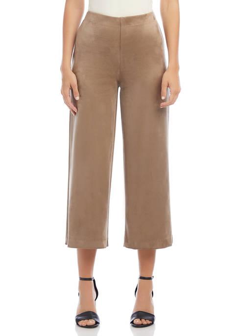 Karen Kane Womens Brooklyn Cropped Pants