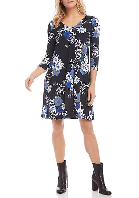 Karen Kane 3/4 Sleeve Tessa Dress