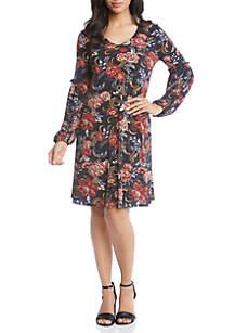 Printed Harper Dress