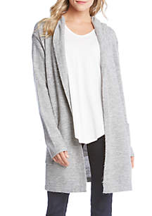 Hooded Cardigan Sweater