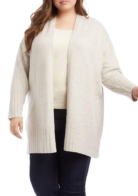 Karen Kane Plus Size Duster Cardigan