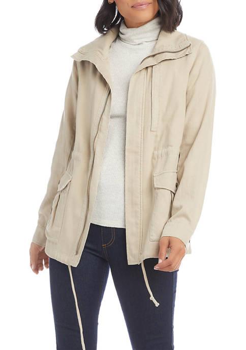 Karen Kane Womens Cargo Jacket