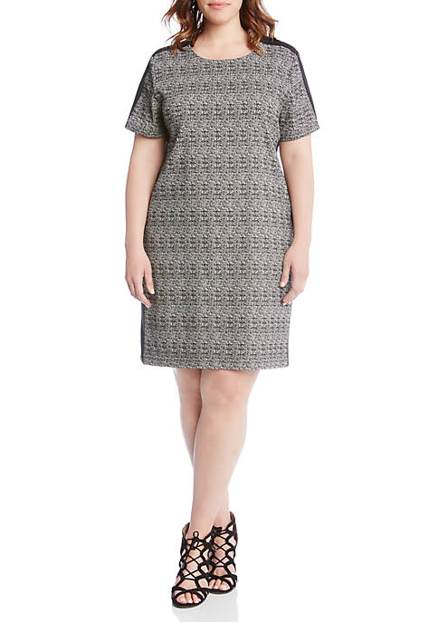 Karen Kane Plus Size Euro Knit Dress