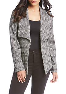 Drape Collar Jacket