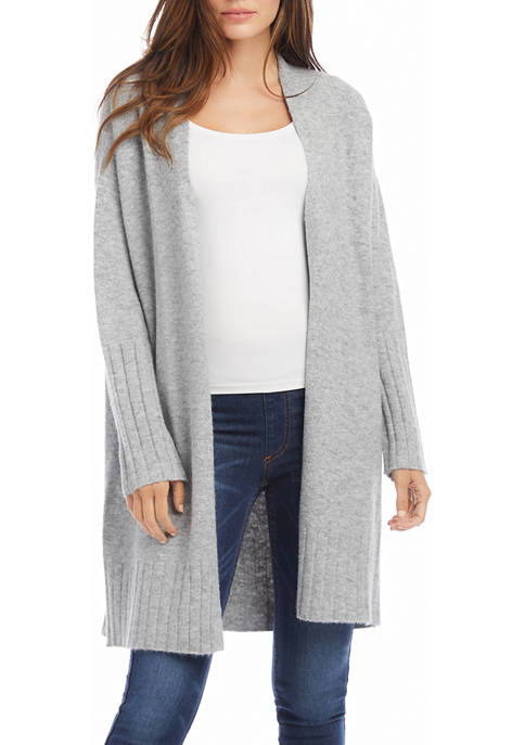 Karen Kane Womens Long Cardigan