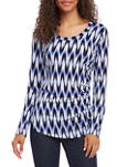 Womens SIde Shirred Top