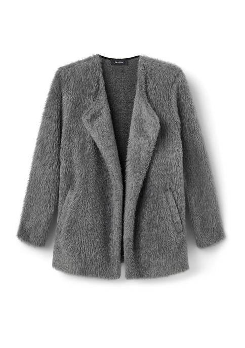 Karen Kane Womens Shawl Collar Sweater Jacket