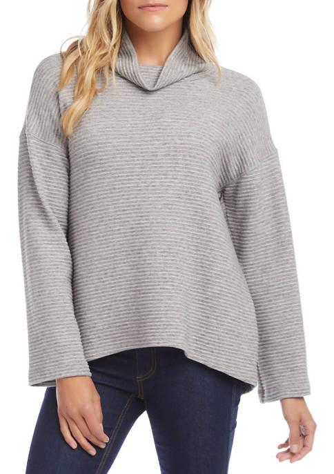 Karen Kane Petite Ottoman Cowl Neck Sweater