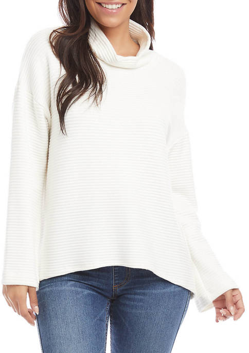 Womens Ottoman Cowl Neck Sweater