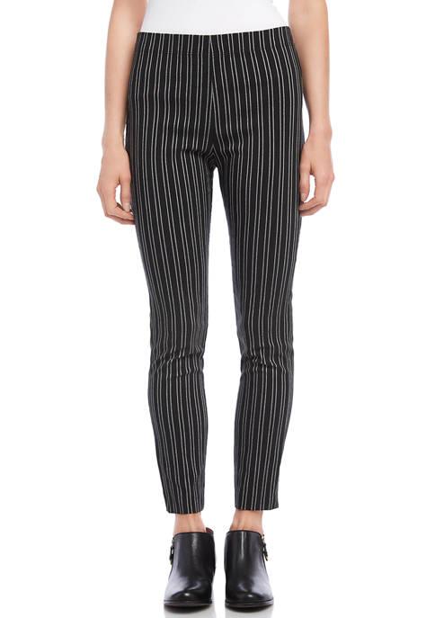 Karen Kane Womens Stripe Piper Pants