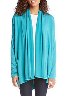 Karen Kane Drape Cardigan Sweater