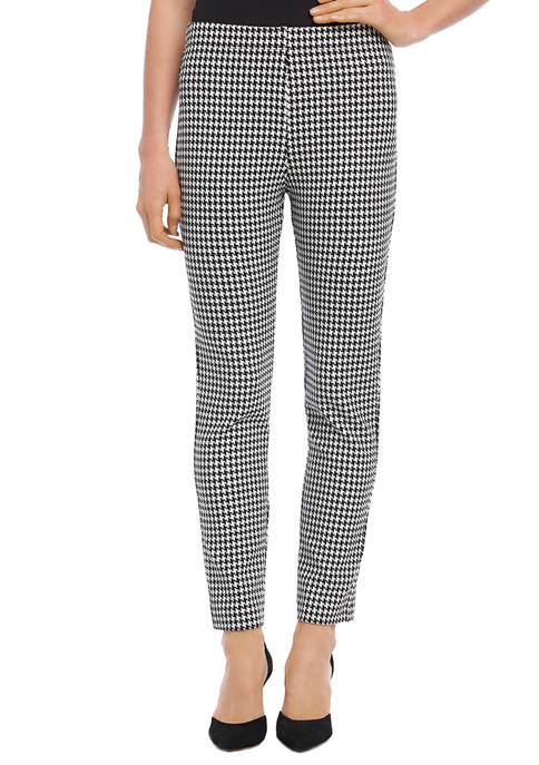 Womens Houndstooth Piper Pants