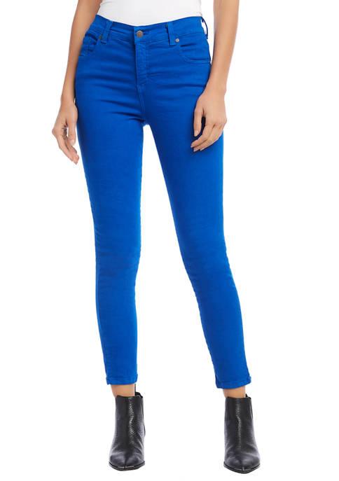 Karen Kane Womens Zuma Cropped Jeans