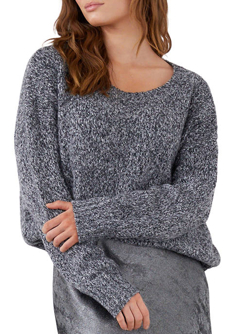 Karen Kane Womens Crew Neck Pullover Sweater
