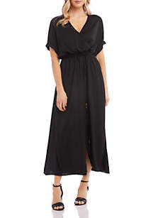 Karen Kane Dolman Sleeve Midi Dress