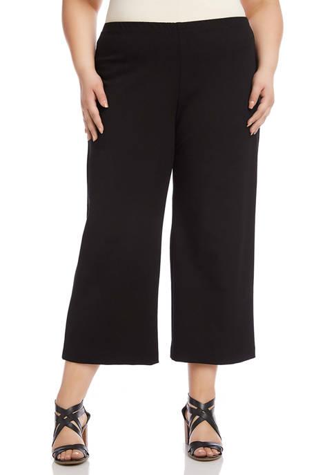 Plus Size Cropped Pants