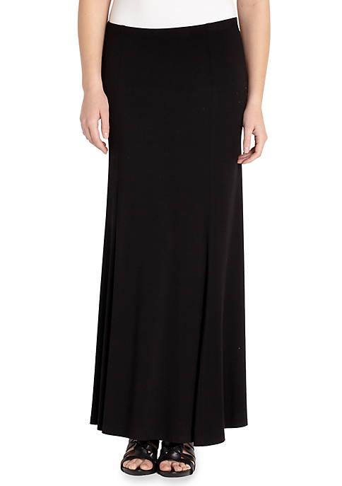 Karen Kane Maxi Flare Skirt