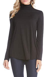 Karen Kane Shaped Turtleneck Tee