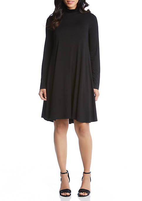 Karen Kane Funnel Neck Maggie Dress