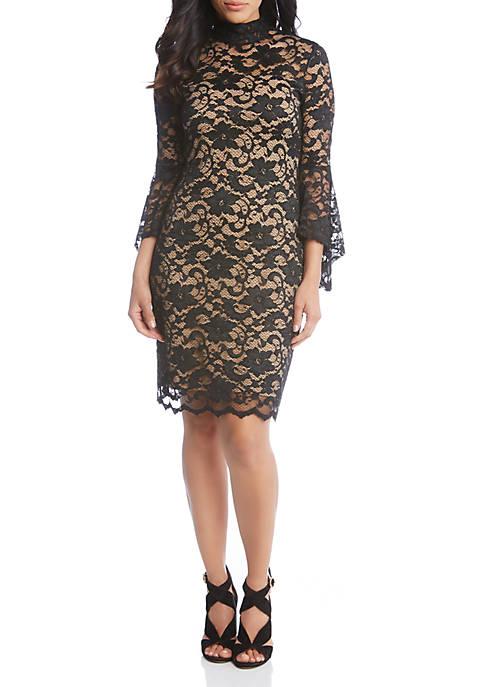 Karen Kane Cascade Wrap Dress Belk
