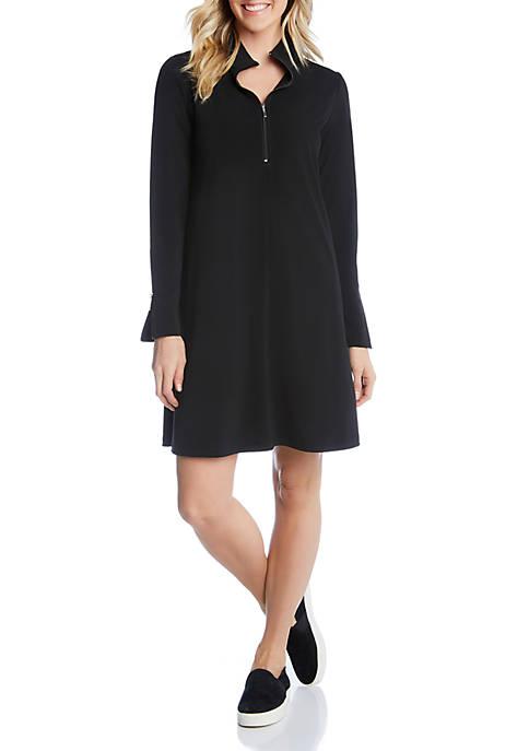 Zip-Up Travel Dress