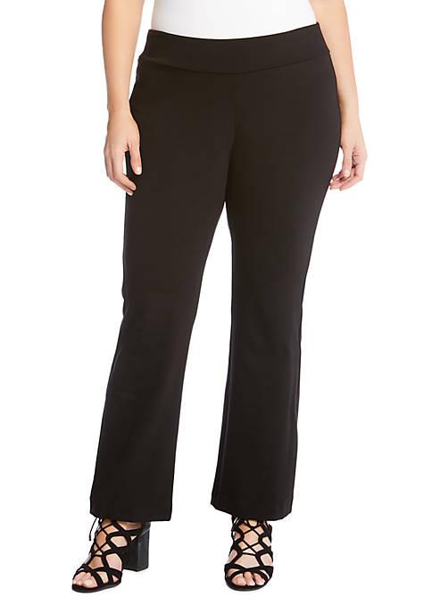 Karen Kane Plus Size Wonder Knit Pants