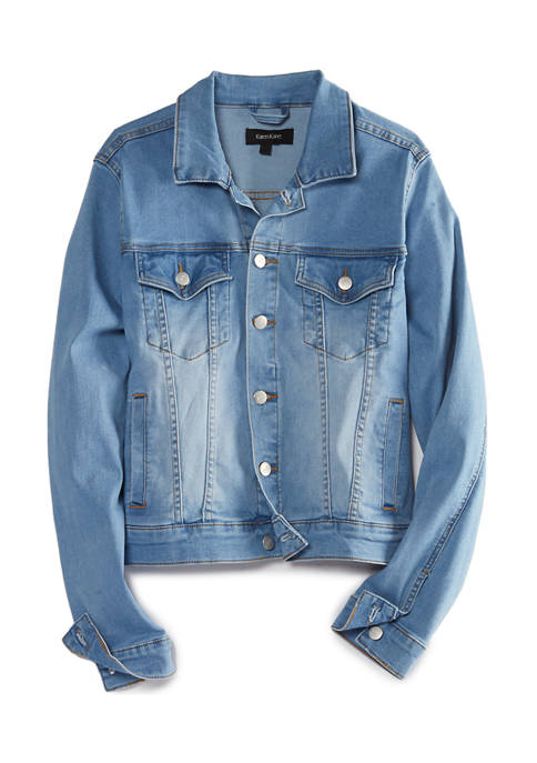 Karen Kane Womens Denim Jacket