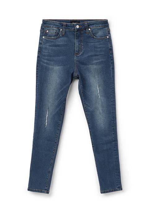 Womens High Waist Jeans