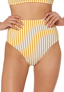 Jessica Simpson High Waisted Swim Bottom