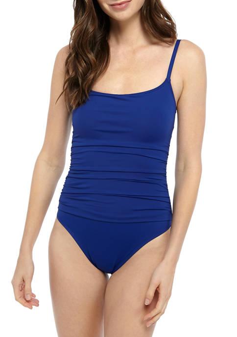La Blanca Island Goddess Lingerie One Piece Swimsuit