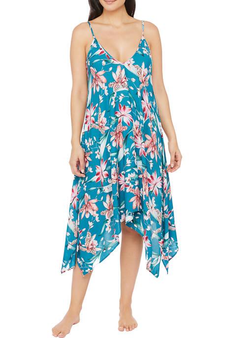 La Blanca Flyaway Orchid V-Neck Dress
