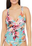 Garden Social Strappy Halter Bikini Top
